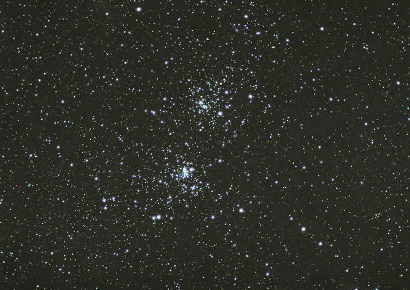 Double Cluster  2 21 10 45 min DSS small